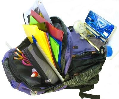 Không để quá nhiều đồ vào balo đựng laptop