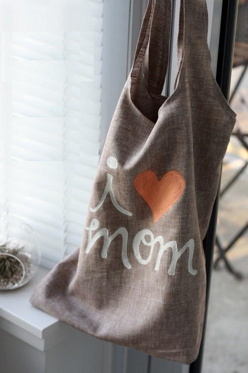 Túi vải linen tặng mẹ yêu