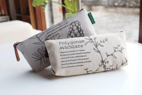 Túi bút bằng vải thô độc nhất vô nhị